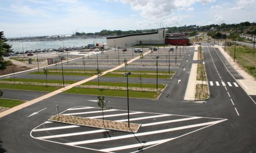 04- realisation d'un parking au Spadium BREST