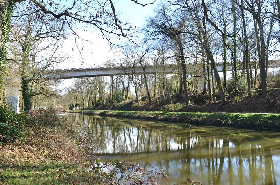 La construction inédite en Ille et Vilaine  d'un viaduc de 240 mètres
